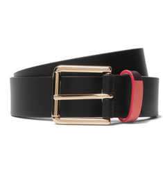 Paul Smith - 3cm Black Leather Belt