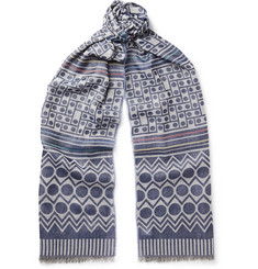 Paul Smith Printed Voile Scarf