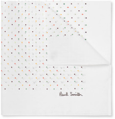 Paul Smith - Polka-Dot Cotton Pocket Square