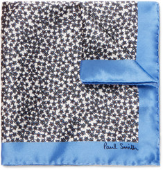 Paul Smith - Floral-Print Silk Pocket Square