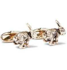 Paul Smith Rabbit Gold-Tone Cufflinks