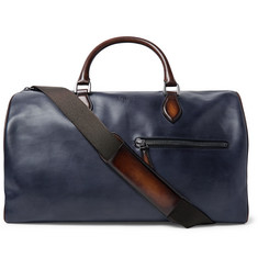 Berluti Jour-Off MM Polished-Leather Holdall