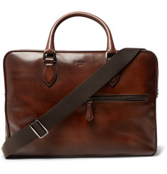 Berluti Gloria Polished-Leather Briefcase