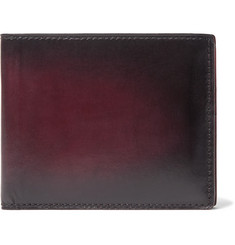 Berluti - Makore Polished-Leather Billfold Wallet
