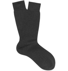 Berluti Ribbed Cotton Socks