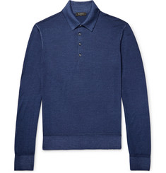 Berluti Slim-Fit Wool Polo Shirt