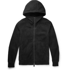 Berluti Shearling Hooded Bomber Jacket