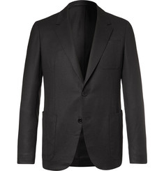 Berluti Black Slim-Fit Wool Suit Jacket
