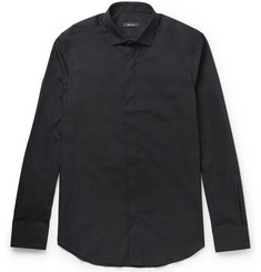 Berluti Slim-Fit Stretch Cotton-Blend Poplin Shirt