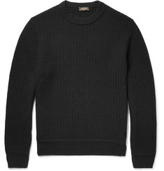 Berluti Textured-Knit Cashmere Sweater