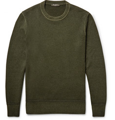 Berluti Garment-Dyed Cashmere Sweater