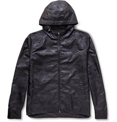 Berluti Shell-Jacquard Hooded Jacket