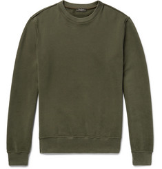 Berluti - Loopback Cotton-Jersey Sweatshirt