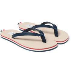 Thom Browne Leather Flip Flops