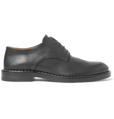 Maison Margiela Matte-Leather Derby Shoes