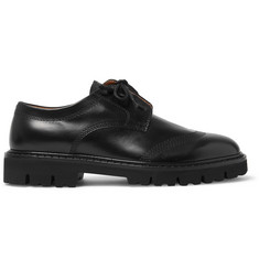 Maison Margiela Leather Derby Shoes