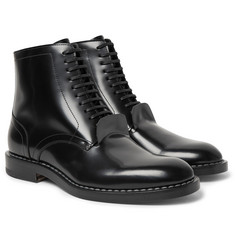 Maison Margiela - Polished-Leather Boots