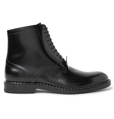 Maison Margiela Polished-Leather Boots