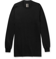Rick Owens Oversized Cotton-Jersey Sweatshirt