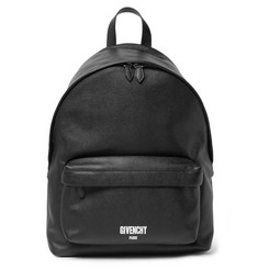 Givenchy Pebble-Grain Leather Backpack