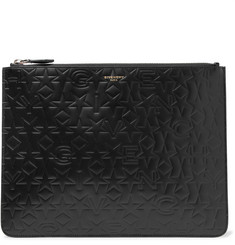 Givenchy Debossed Leather Pouch