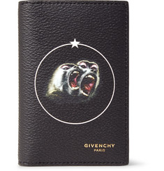 Givenchy Monkey Brothers Printed Faux Leather Bifold Cardholder