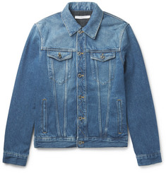 Givenchy - Slim-Fit Logo-Appliquéd Denim Jacket