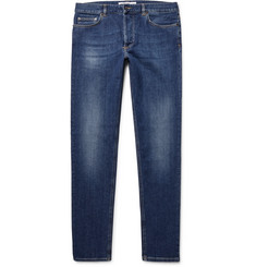 Givenchy Cuban-Fit Appliquéd Stretch-Denim Jeans