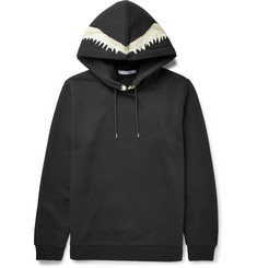 Givenchy Cuban-Fit Printed Neoprene and Fleece-Back Cotton-Jersey Hoodie