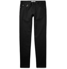 Givenchy Rico-Fit Embroidered Stretch-Denim Jeans