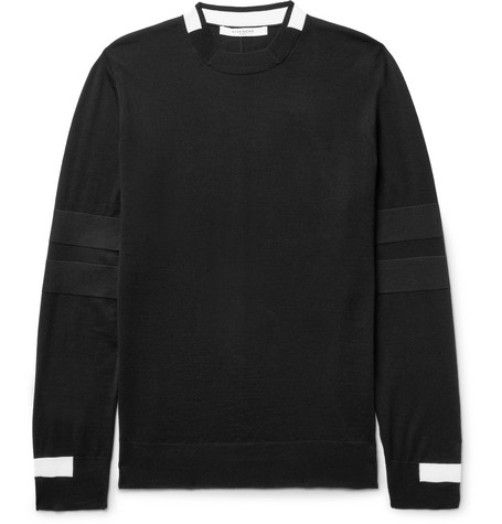 Givenchy Wools Striped Wool Sweater