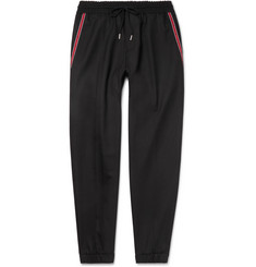 Givenchy Taped Stretch-Wool Trousers