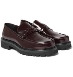 Bottega Veneta Lordown Polished-Leather Loafers