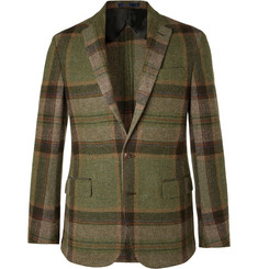 Polo Ralph Lauren Morgan Checked Wool and Alpaca-Blend Blazer