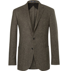 Polo Ralph Lauren Polo Yale Slim-Fit Basketweave Wool Blazer
