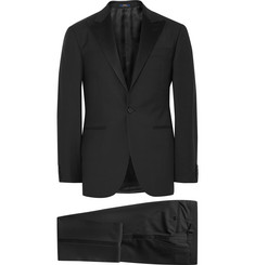 Polo Ralph Lauren - Black Fairbanks Slim-Fit Wool Tuxedo
