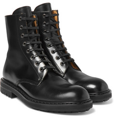 Alexander McQueen - Leather Combat Boots