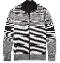 Missoni Slim-Fit Reversible Cotton, Cashmere and Silk-Blend Zip-Up Cardigan