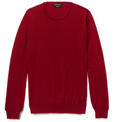 Alexander McQueen Striped Cashmere Sweater