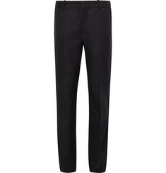 Alexander McQueen Navy Slim-Fit Passementerie-Trimmed Wool-Twill Suit Trousers