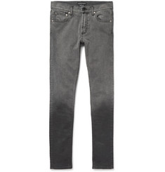 Alexander McQueen Skinny-Fit Dégradé Stretch-Denim Jeans