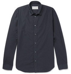 Maison Margiela - Slim-Fit Garment-Dyed Cotton-Poplin Shirt