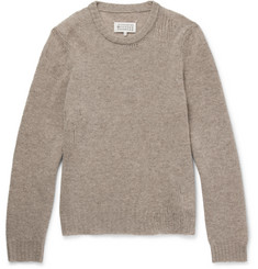 Maison Margiela Open-Knit Wool Sweater