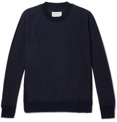 Maison Margiela Contrast-Trimmed Wool Sweater