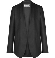 Maison Margiela Black Slim-Fit Wool-Twill Blazer