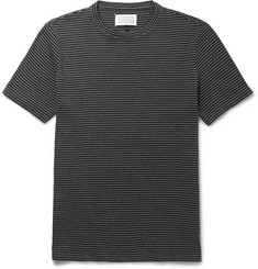 Maison Margiela Striped Cotton-Jersey T-Shirt