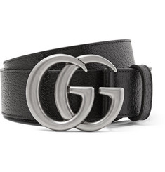 Gucci 4cm Full-Grain Leather Belt
