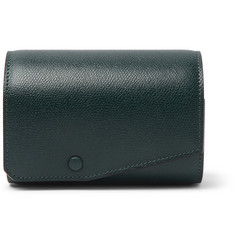 Valextra - Pebble-Grain Leather Watch Roll
