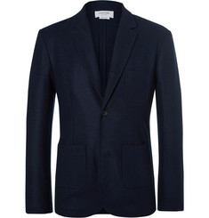 Thom Browne - Unstructured Boiled Wool Blazer