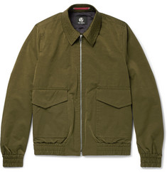 PS by Paul Smith Slub Satin Flight Jacket